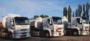 Trei ro - transporturi petroliere